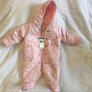 RALPH LAUREN Baby Pink Snowsuit NWT 3 Month
